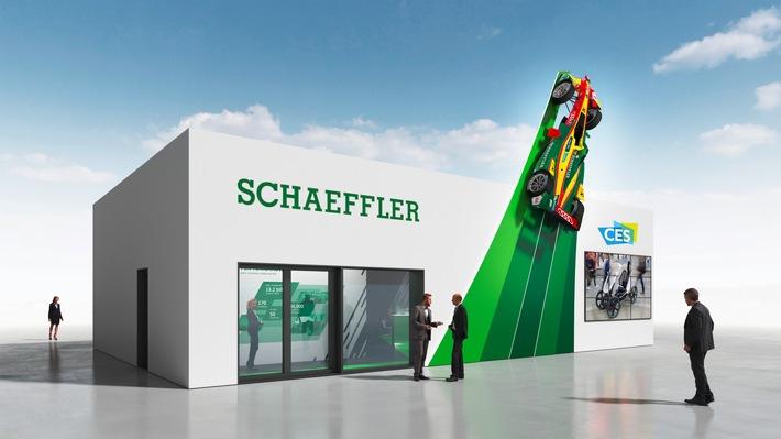 Schaeffler auf der CES 2017 / Schaeffler auf dem Weg zum Mobilitätszulieferer