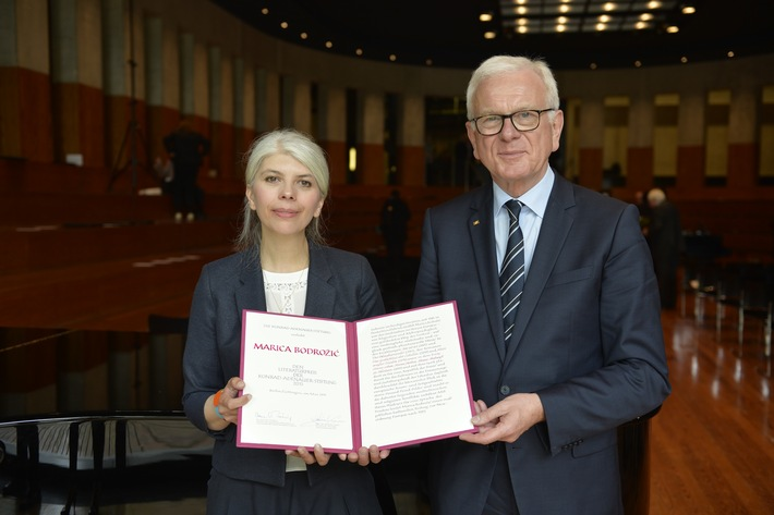 Marica Bodrozic mit dem Adenauer-Literaturpreis ausgezeichnet