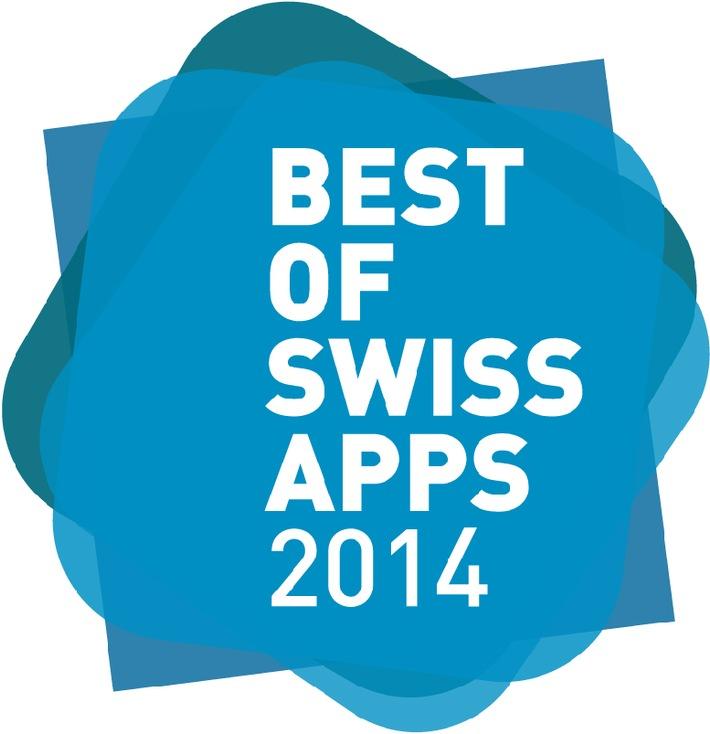 Best of Swiss Apps Award Night: Einladung zur Presse-Akkreditierung