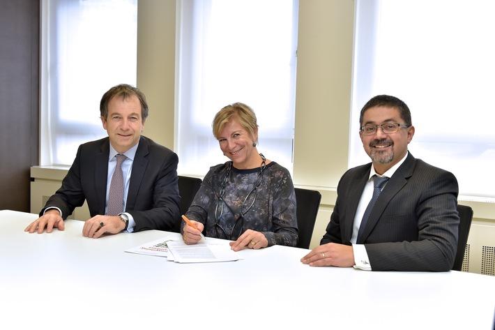 Spannen zusammen: PwC Schweiz und Equal-Salary-Stiftung