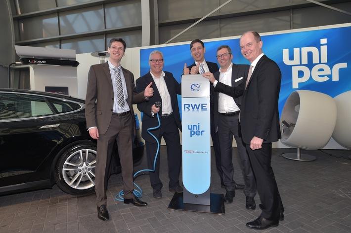 RWE Effizienz und Uniper beabsichtigen Zusammenarbeit bei der Elektromobilität