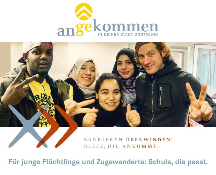 """NRW-Schulministerium, Stadt Dortmund und Walter Blüchert Stiftung starten Kooperation für innovatives Integrationsprogramm """"angekommen"""" für junge Flüchtlinge"""