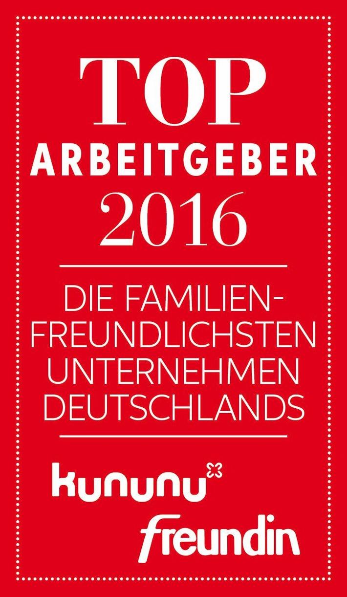 Freundin und kununu küren die familienfreundlichsten Unternehmen Deutschlands 2016