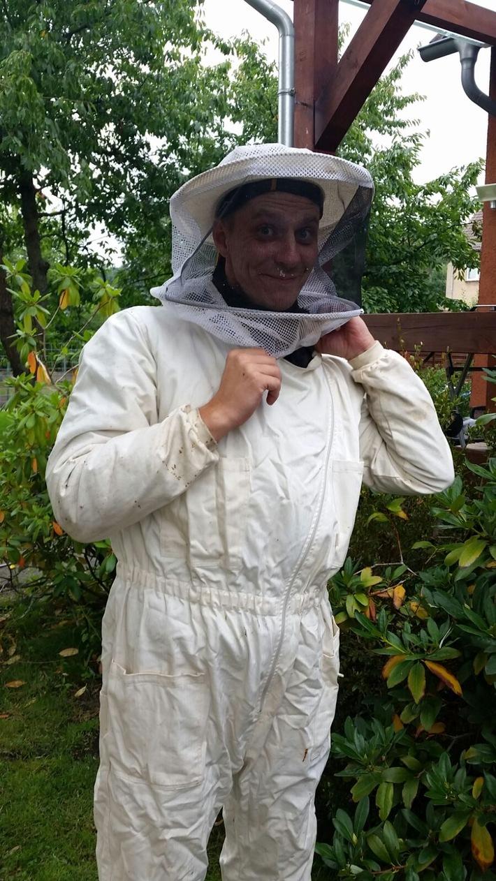 Imkern mit Bienengiftallergie
