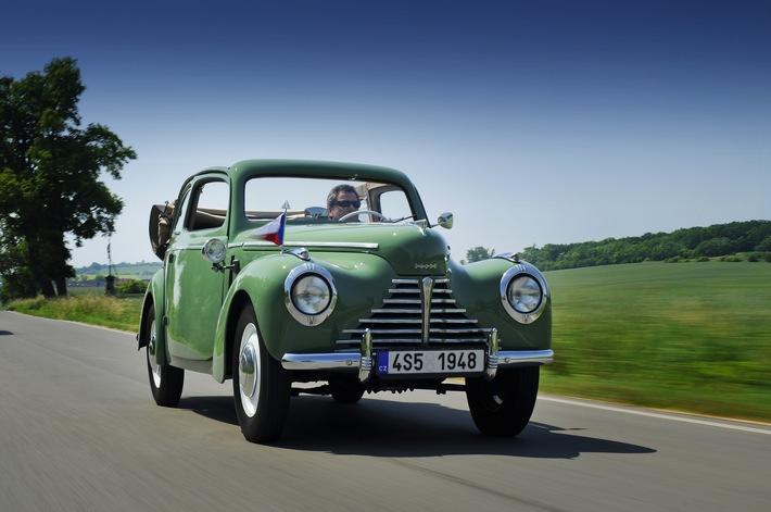 SKODA startet mit glanzvollen Klassikern bei der Oldtimer-Rallye Wiesbaden