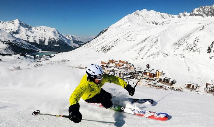 Ski Industries of Great Britain (SIGB) testen im Kühtai die Skimodelle der Wintersaison 2015/16