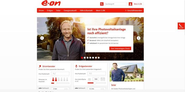 """Website des Jahres: Internetgemeinde wählt E.ON zur beliebtesten Homepage in der Kategorie """"Versorgungsbetriebe"""""""