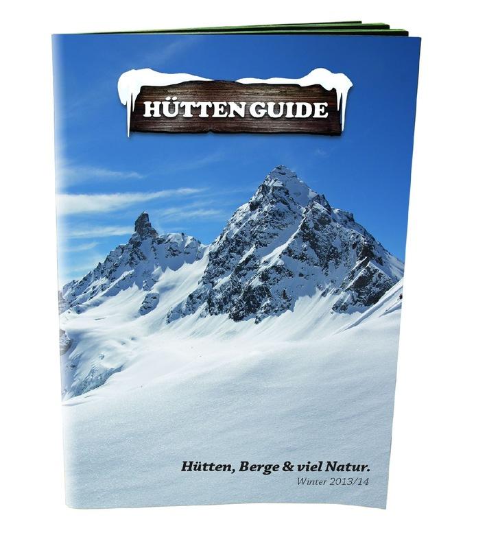 Der neue Hütten-Guide für die Wintersaison 2013/14 ist da!