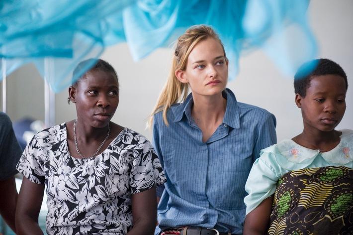 Fotostrecke - Nadine Strittmatter engagiert sich für Afrika