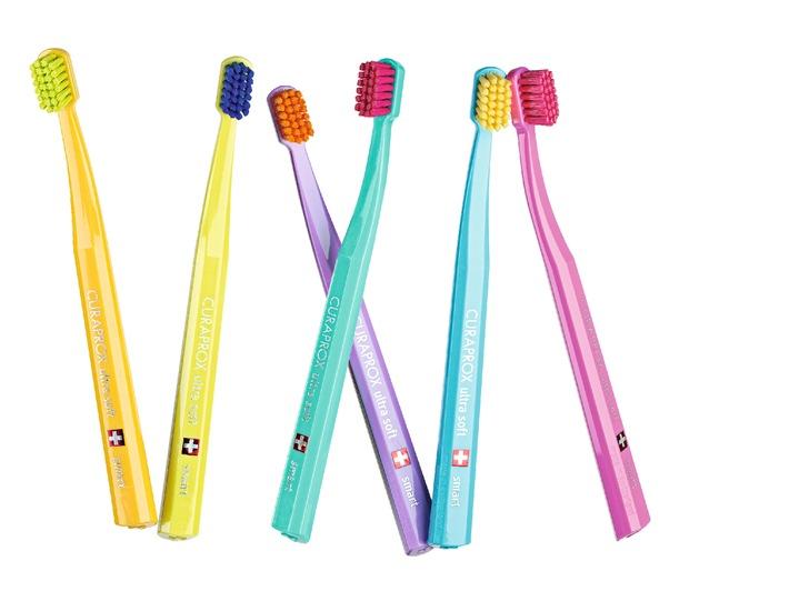 Oltre 7000 setole: Curaprox lancia uno spazzolino da denti molto soffice per bambini