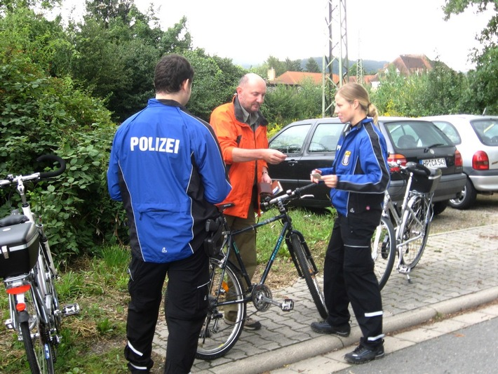 PPSH-HP: Mit Fahrradstreifen hinter Fahrraddieben her