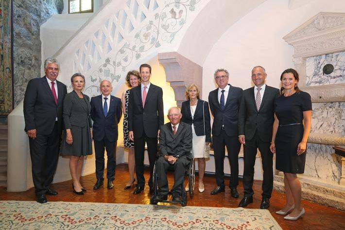 ikr: Deutschsprachige Finanzminister zu Gast in Liechtenstein