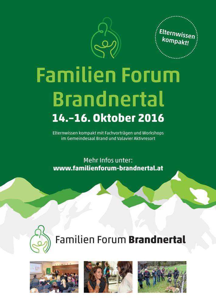 Familien Forum Brandnertal: 14.-16. Oktober 2016 - BILD