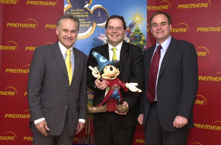 Walt Disney Television International und Premiere unterzeichnen Verträge für den Disney Channel und die neuesten Kinohits
