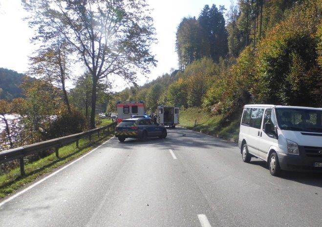 Die Bundesstraße zwischen Kaiserslautern und Schopp war am Donnerstagnachmittag für mehrere Stunden gesperrt.