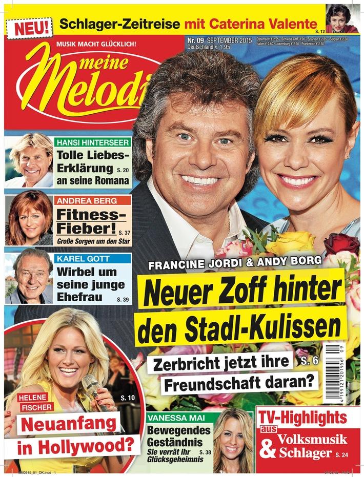 """Der neue """"Stadl"""" wird eine """"Musikshow für alle Generationen"""" / Francine Jordi und Alexander Mazza freuen sich auf ihre Doppel-Moderation"""