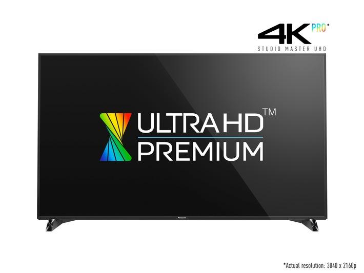 Weltneuheit: Panasonic präsentiert ersten Ultra HD Premium TV