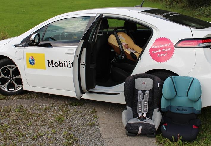 Kindersitzeinbau: Familienautos auf dem Prüfstand