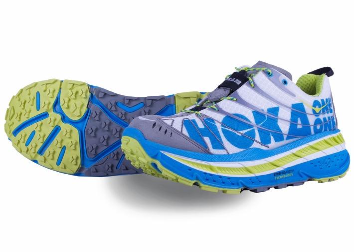 Fliegen auf hohen Sohlen - mit den Schuhen von HOKA One One