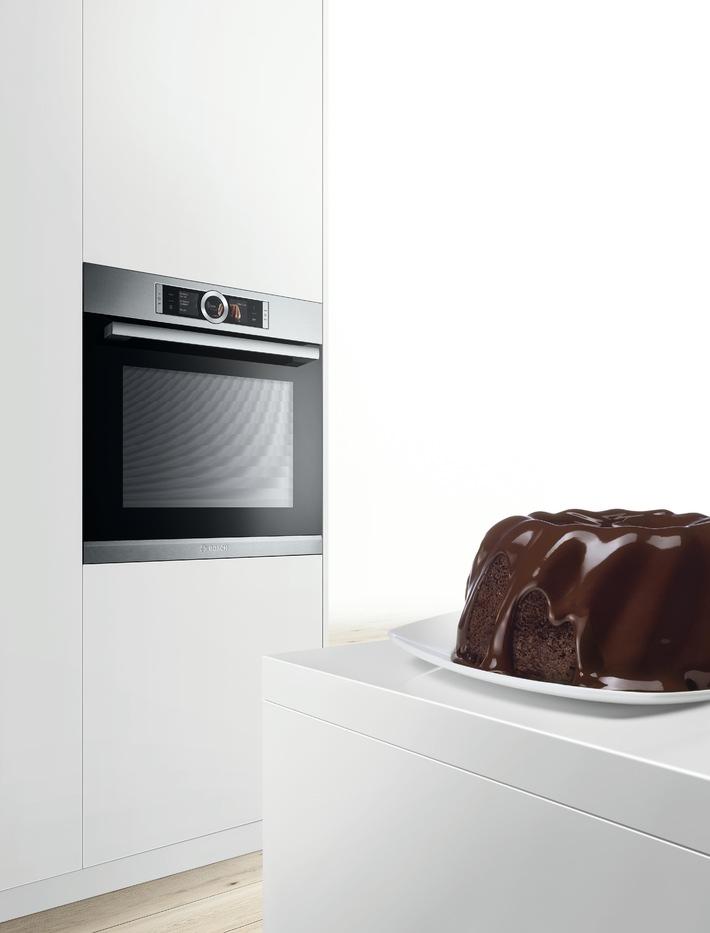 Einfach zum perfekten Ergebnis: Bosch stellt Serie 8 Backofen vor