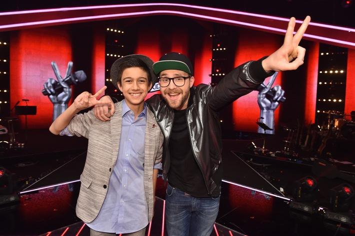 """Lukas (13, Fürstenfeld/AT) aus Team Mark Forster ist """"The Voice Kids"""" 2016"""