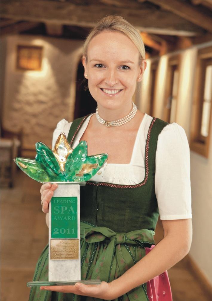 Ausgezeichnet - Leading Spa Award 2011