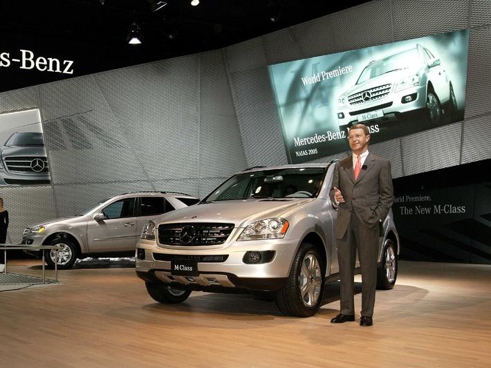 Made in the USA für mehr als 100 Märkte: Mercedes-Benz präsentiert die neue M-Klasse