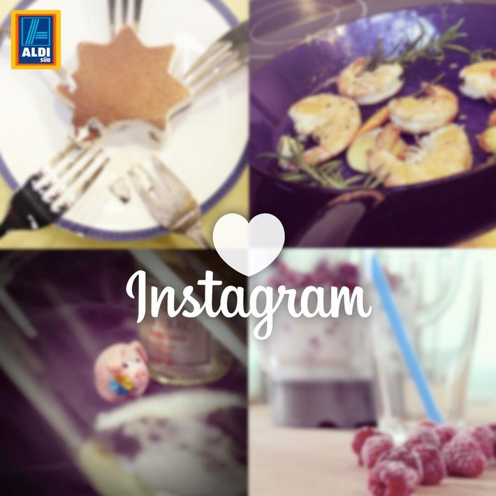 ALDI SÜD postet jetzt auch auf Instagram