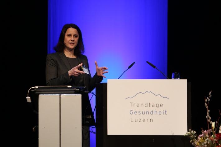 «20 Jahre KVG: Woher - Wohin?» / Trends in der Medikamentenentwicklung diskutiert an den 12. Trendtagen Gesundheit Luzern
