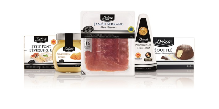 Lidl bietet Deluxe-Aktionssortiment zu Ostern / Deluxe-Produkte heben sich durch Herkunft, Rezepturen, Zutaten und Herstellungsverfahren vom regulären Sortiment ab