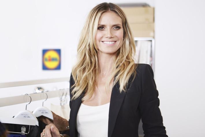 Moda per tutti: Heidi Klum per Lidl
