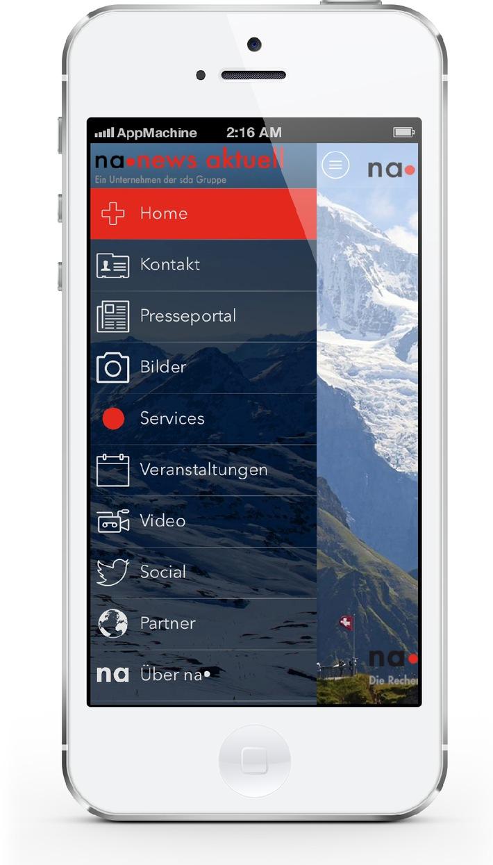 Kommunikationsdienstleister news aktuell (Schweiz) AG stellt gemeinsam mit AppMachine neue App für Unternehmensnachrichten bereit