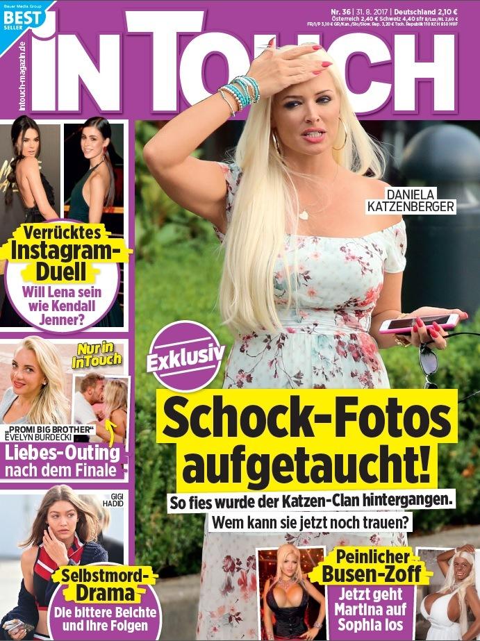 """Evelyn Burdecki (28) und Willi Herren (42) exklusiv in InTouch: """"Ja, Wir haben rumgeknutscht!"""""""