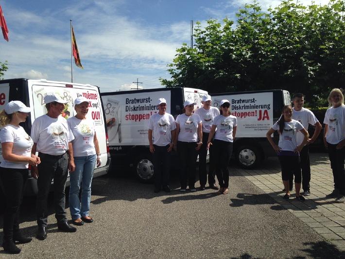 Start des Roll-Outs für die Volksinitiative «Schluss mit der MwSt-Diskriminierung des Gastgewerbes!»