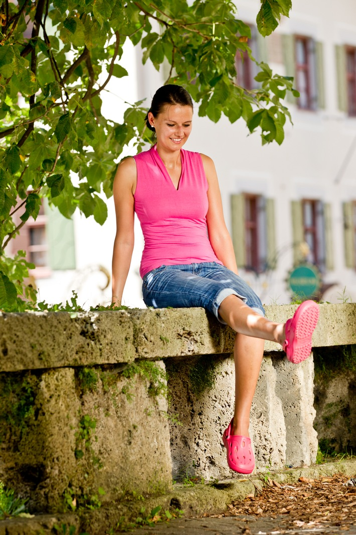 Rückenschmerzen beginnen bei den Füßen - gut zu Fuß mit dem richtigen Schuhwerk