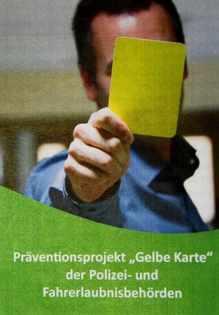 """POL-PPTR: Polizeipräsidium Trier stellt Präventionsprojekt """"Gelbe Karte"""" vor"""