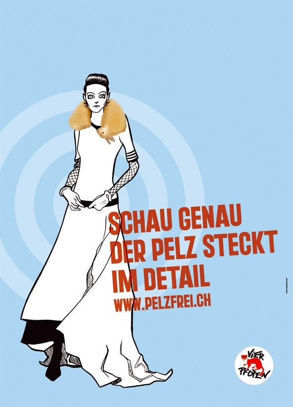 VIER PFOTEN: Weniger Pelz im nächsten Schweizer Modewinter