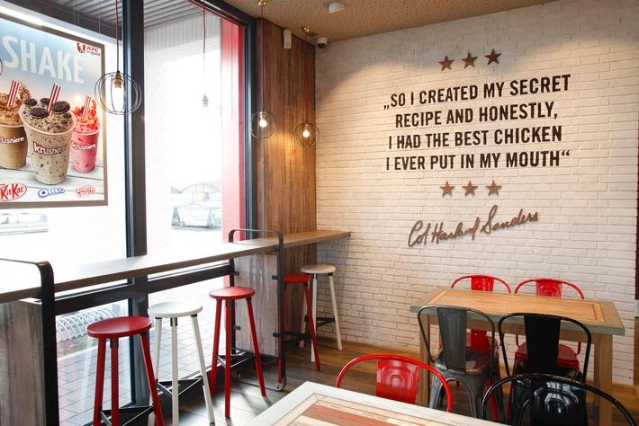 Aktion '#Gaumenstaunen': KFC bringt deutsche Gaumen zum Staunen / Nationales Tasting am 27. Februar 2016 macht deutschlandweit Appetit auf KFC Filet Bites