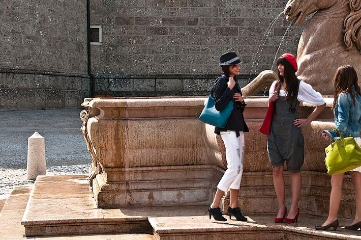 Altstadt Salzburg ganz in Mode - BILD