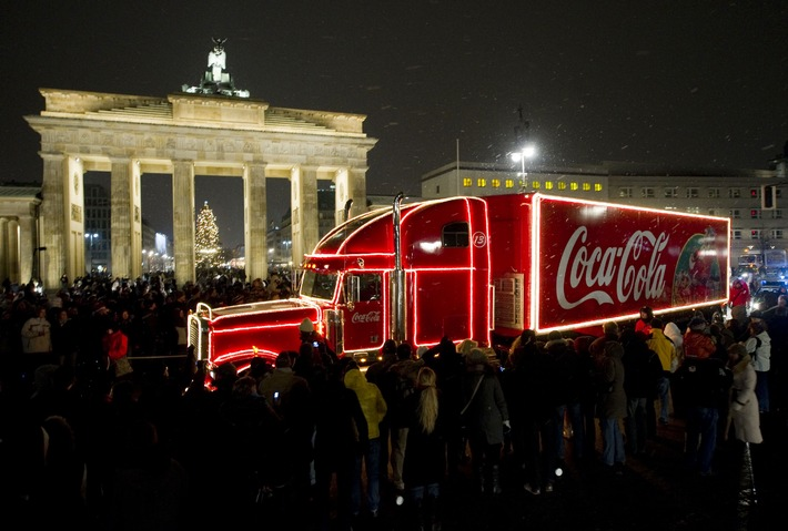 Großes Finale der Coca-Cola Weihnachtstour 2009 in Berlin (mit Bild)