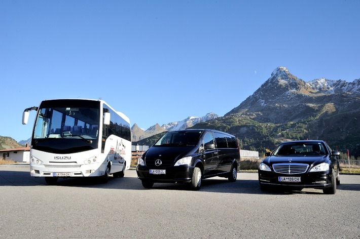 Ischgl: erstes Taxiunternehmen weltweit mit mobilem WLan von free-key ausgestattet
