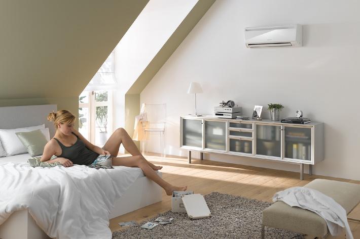 effizient klimatisieren dank intelligenter technik testsieger sorgt fl sterleise f r. Black Bedroom Furniture Sets. Home Design Ideas