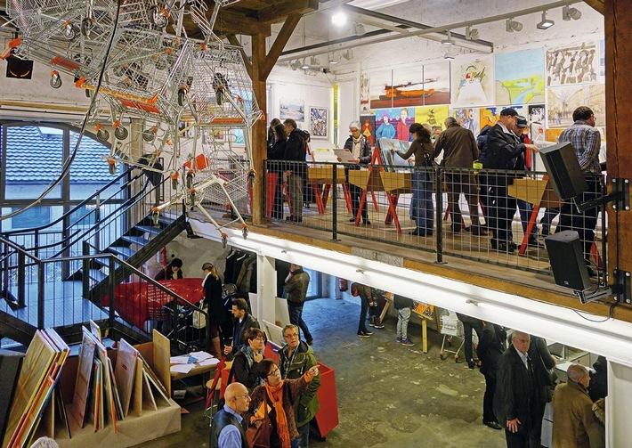 Supermarkt will Kunst verbessern / 17. Schweizer Kunst-Supermarkt sorgt für Aufregung.