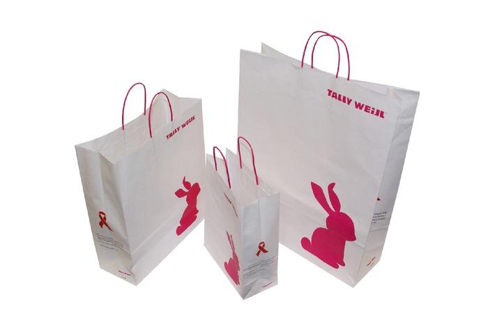 TALLY WEiJL verkauft seine Papiertaschen - Pioniere in der Modebranche