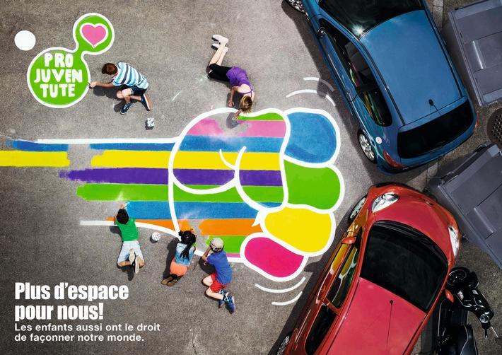 Pro Juventute lance une campagne de mobilisation nationale pour réclamer plus d'espace public pour les enfants