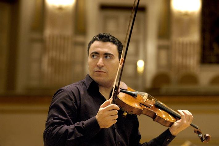 Série de concerts du Credit Suisse 2003: L'Orchestre National du Capitole de Toulouse dirigé par Michel Plasson et avec Maxim Vengerov en soliste, en tournée en Suisse