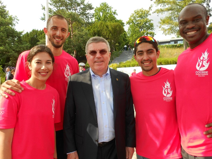 """IOC-Präsident einer der Hauptredner an der Diplomverleihungsfeier  """"AISTS Master of Sports Administration"""""""