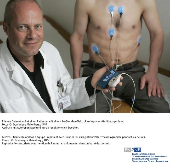 FNS: Image du mois d'août 2007: Fibrillation auriculaire: mise en évidence des signaux d'alerte précoces
