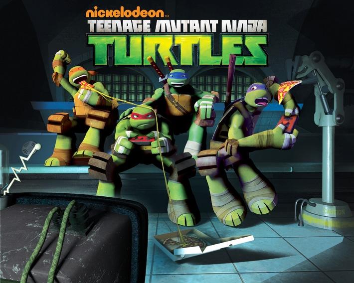 Die Teenage Mutant Ninja Turtles - Stark. Mutig. Schlau ... und hungrig.  Ab 4. November bei Nickelodeon