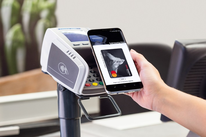 Swiss Bankers introduit Samsung Pay